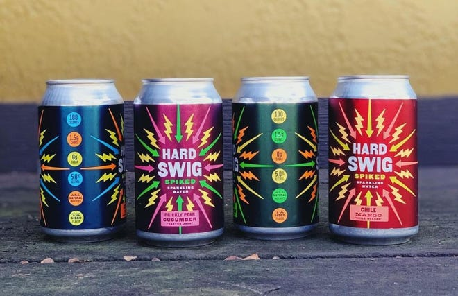 The makers of Big Swig sparkling water are now selling a line of hard seltzers called Hard Swig.