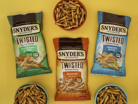 Snyder's of Hanover releases twisted pretzel sticks in three new flavors | pennlive.com