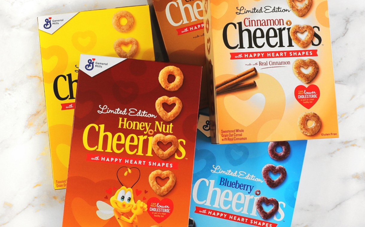 General Mills brings back heart-shaped Cheerios in new flavours  | FoodBev Media