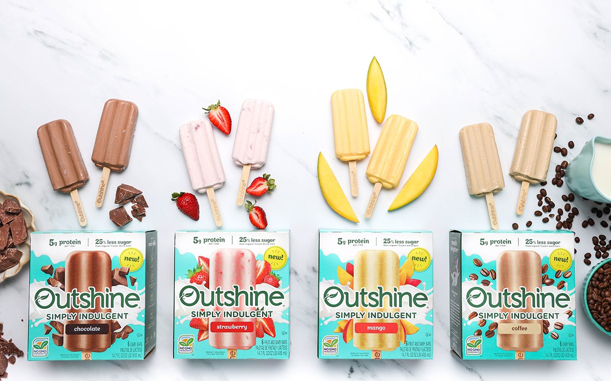 Outshine debuts new Simply Indulgent frozen bars | FoodBev Media