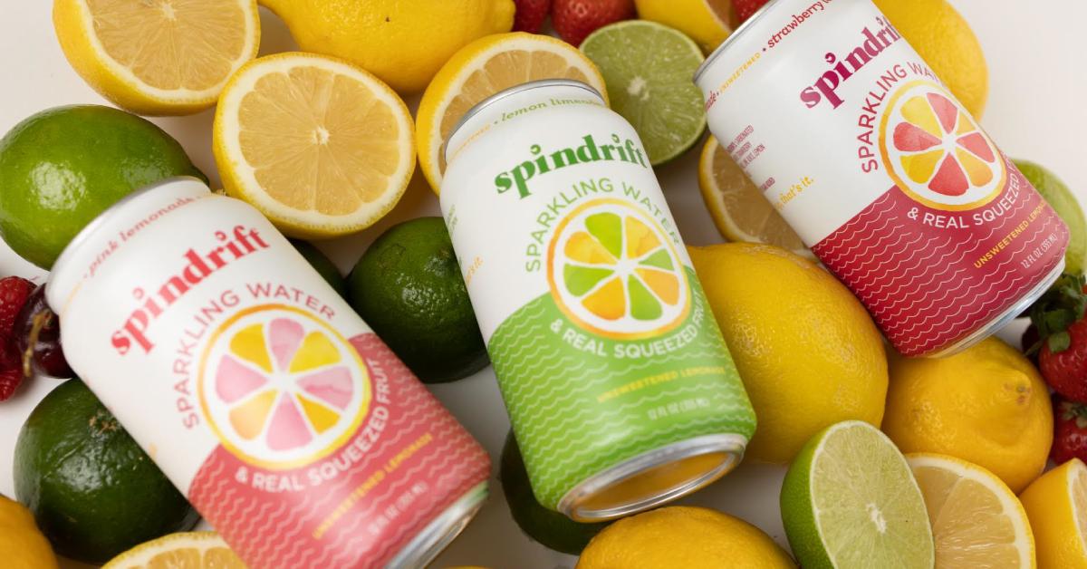 Spindrift Launches Lemonade Sparkling Water Line | BevNET.com
