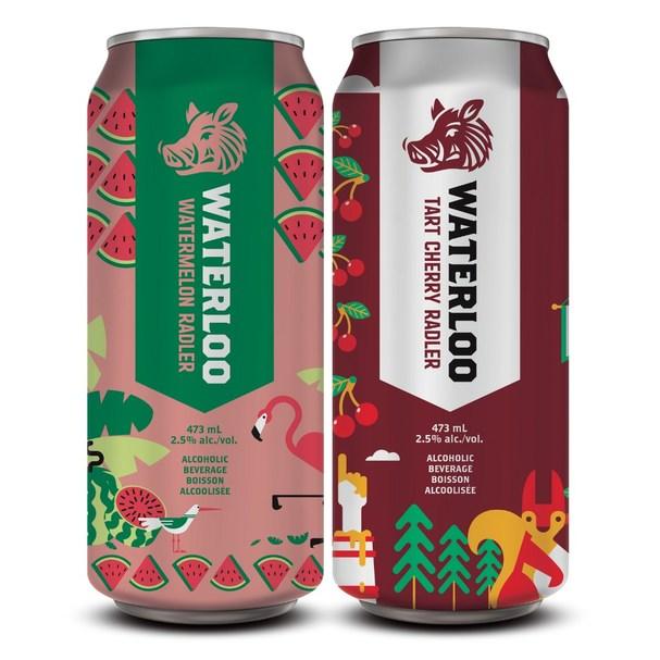 Juicy News: Waterloo Brewing Launches New Watermelon Radler and Tart Cherry Radler   Newswire