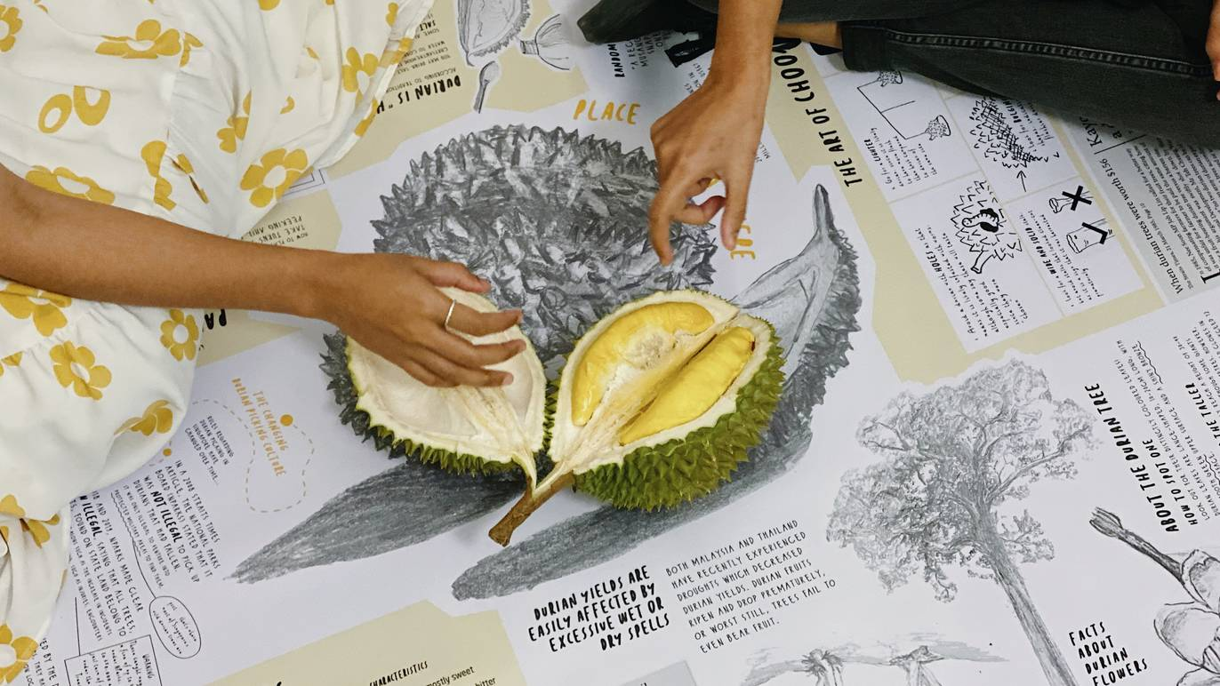 Waiting For Durian: An interactive picnic that reconnects people with local durian culture | Timeout Singapore