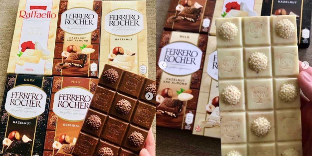 Ferrero Rocher Chocolate Bars Are Launching In The UK | Delish