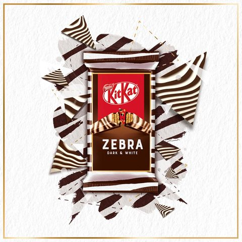 KitKat's New Flavour Is A Marbled Mix Of White And Dark Chocolate | Delish