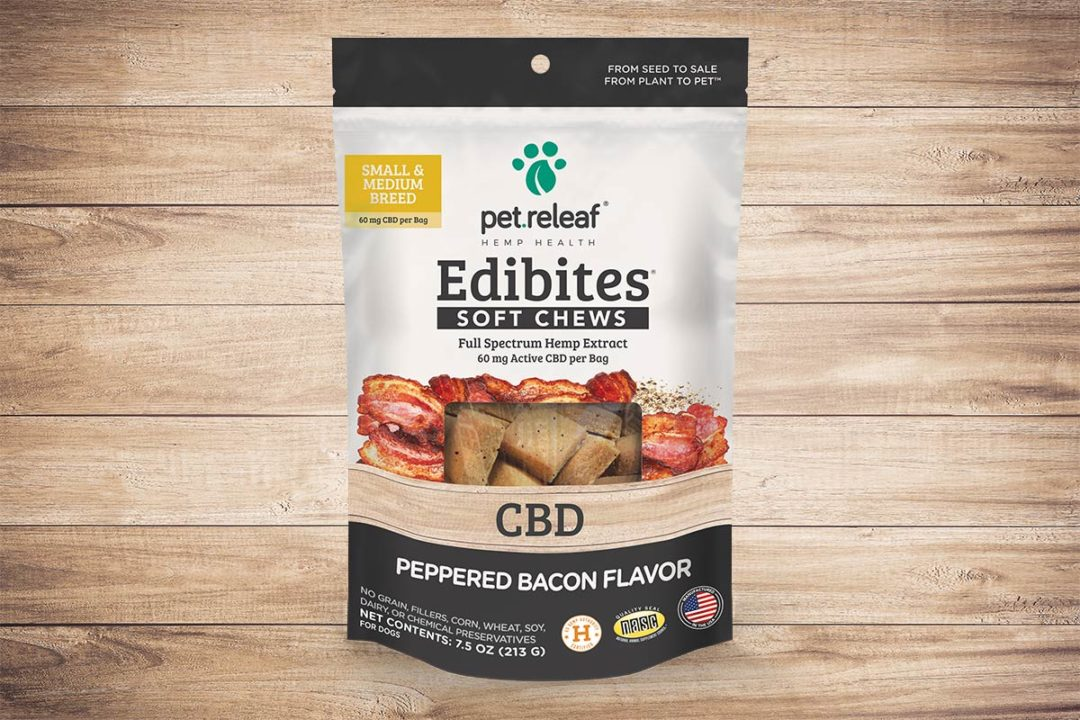Pet Releaf adds Peppered Bacon flavor to Edibites line | Pet Food Processing