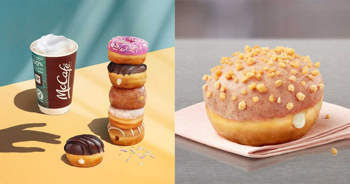 McDonald's Canada Li'L Donuts New Flavour Is Out Now   Narcity