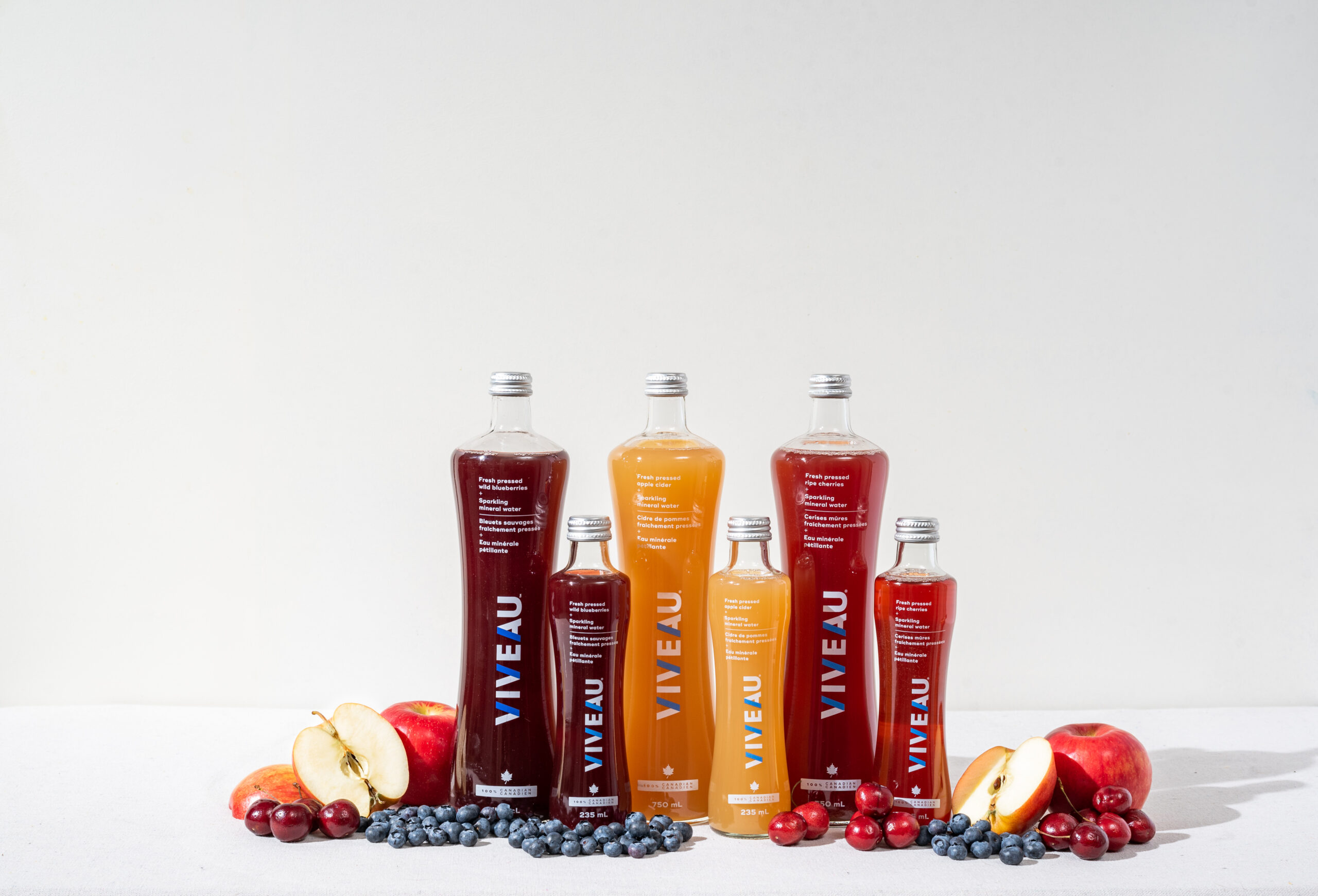 New mineral water flavours from Canadian company Viveau | Food In Canada