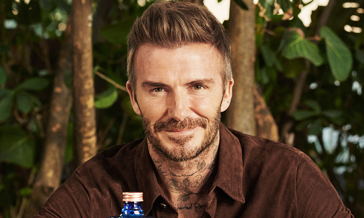 David Beckham is launching a new drink bursting with light and zesty flavours | Hello!