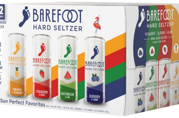 Barefoot Expands Hard Seltzer Lineup with Two New Flavors | Foodsided