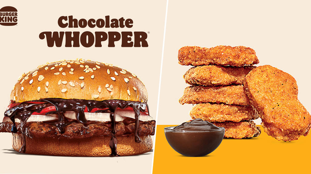 Burger King Launches Chocolate Whopper & Nuggets With Fudge Dip | TODAY