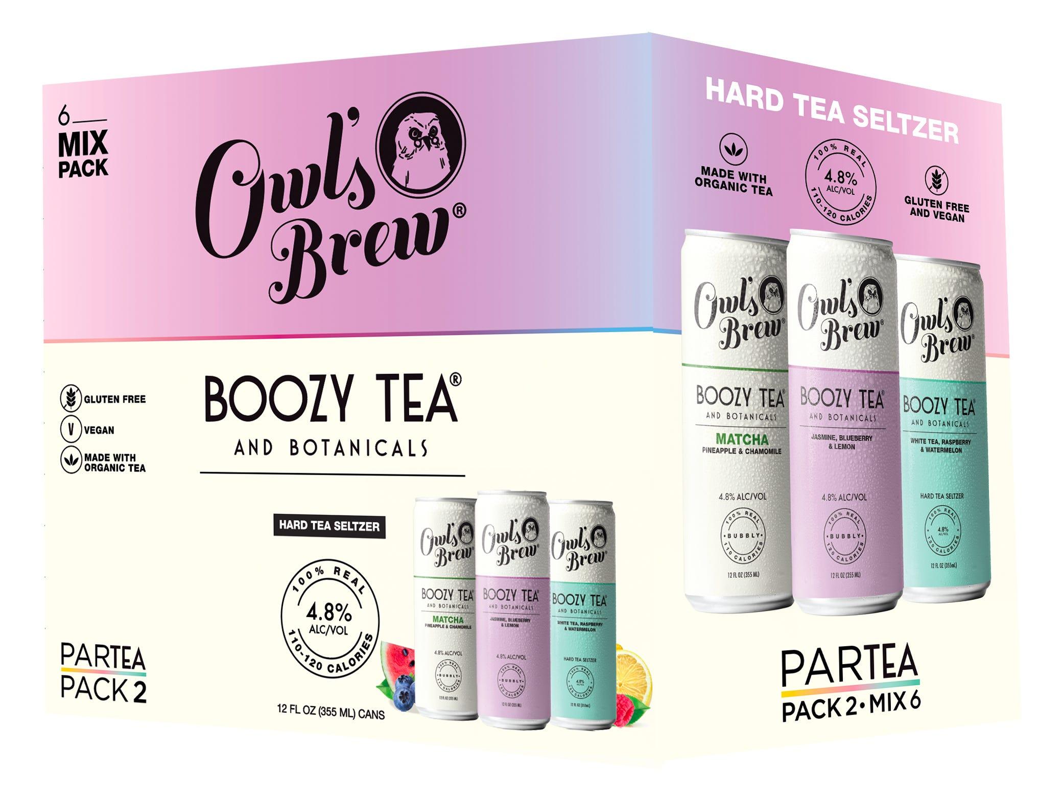 Owl Brew's Par-Tea pack.