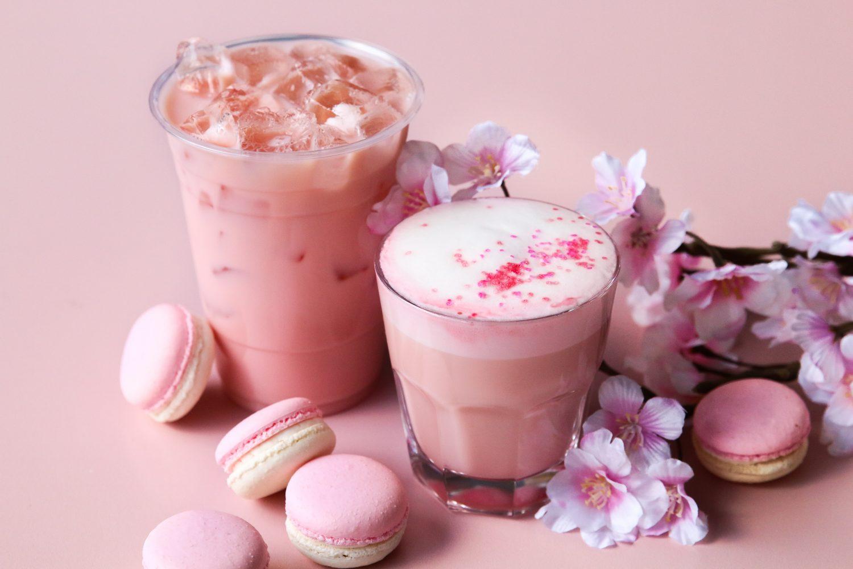 Honolulu Coffee is featuring a special Sakura Latte that tastes as good as it looks | Populist