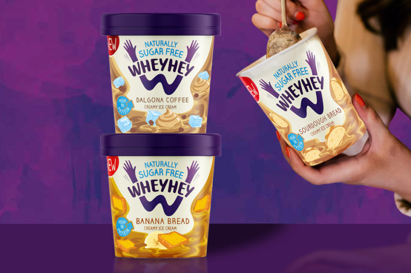 Ice cream brand Wheyhey to launch banana bread and sourdough flavours   Confectionery Production