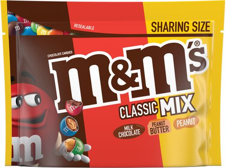 New M&M's Mix bags
