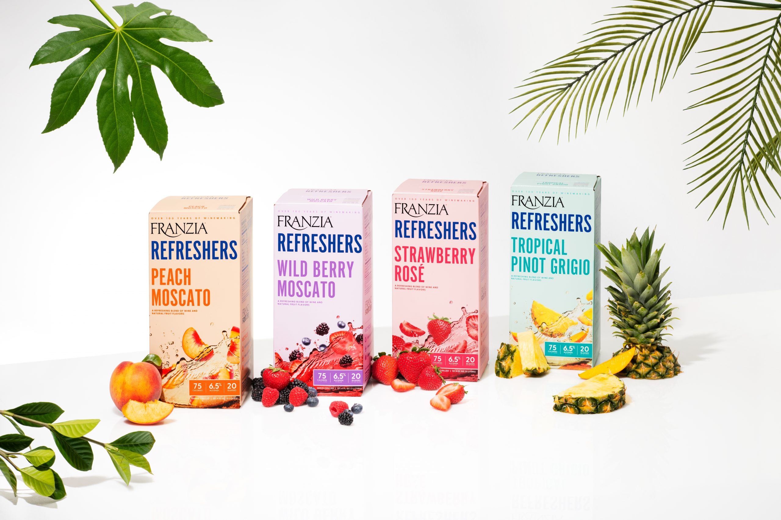 Introducing Franzia Refreshers New Varietal Wines Blended With Natural Fruit Flavors   Business Wire