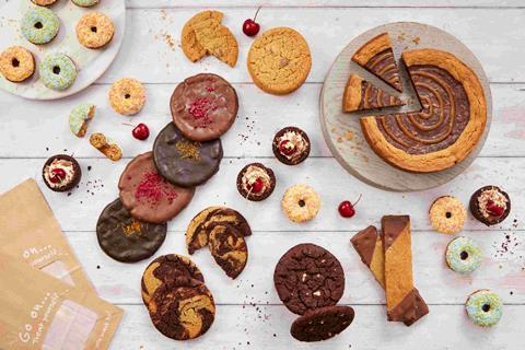 Cookie dough and pink gin cake among sweet product launches | British Baker