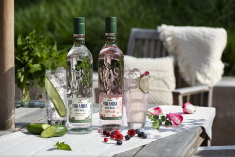 Finlandia Launches Two New Vodkas: Cucumber & Mint and Wildberry & Rose   BEVnet