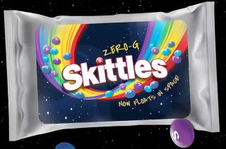 Skittles is celebrating its flight into space with limited Zero-G candy packs | Space