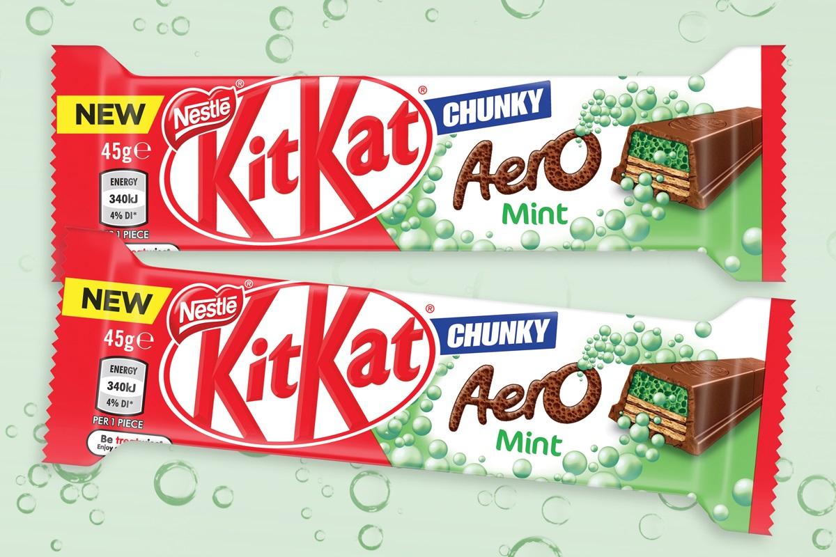 Share a BUBBLY break with KitKat Aero Chunky | Convenience & Impulse Retailing