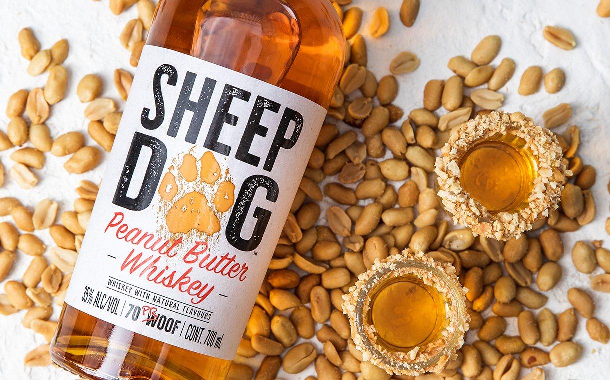 Sheep Dog Peanut Butter Whiskey debuts in UK | FoodBev Media