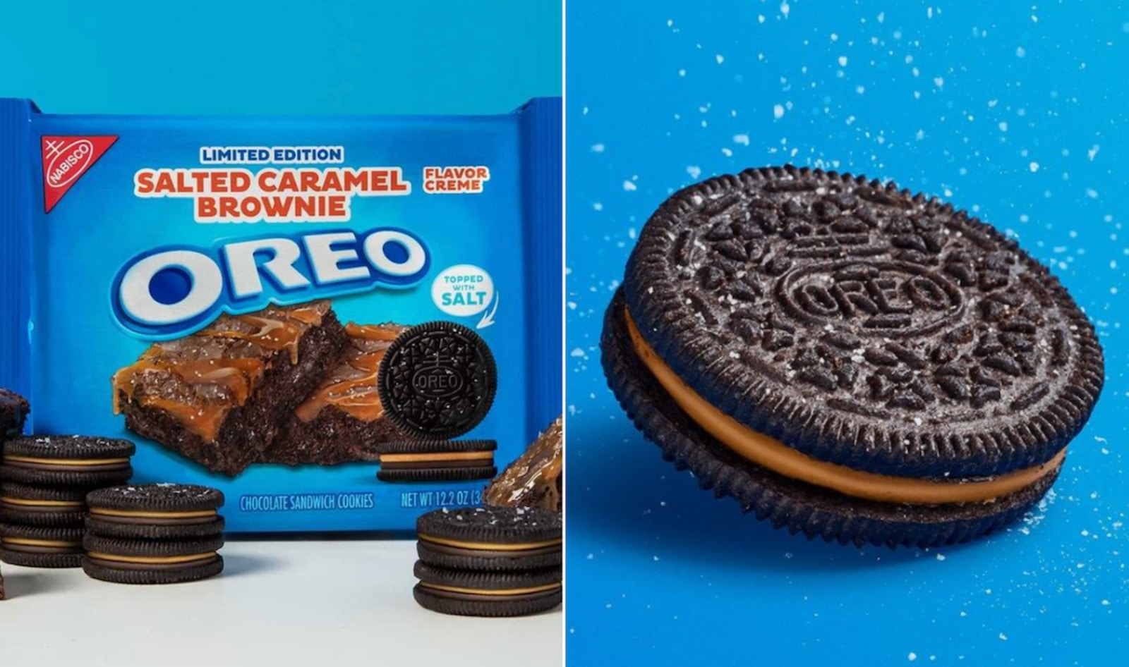 Oreos Just Launched A Salted Caramel Brownie Flavor and It's Still Accidentally Vegan | VegNews