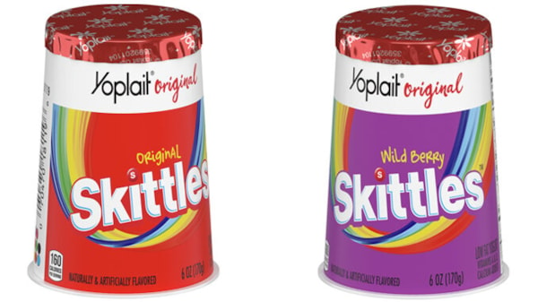 Yoplait Introduces New Skittles Yogurt in Two New Flavors | Kiss951