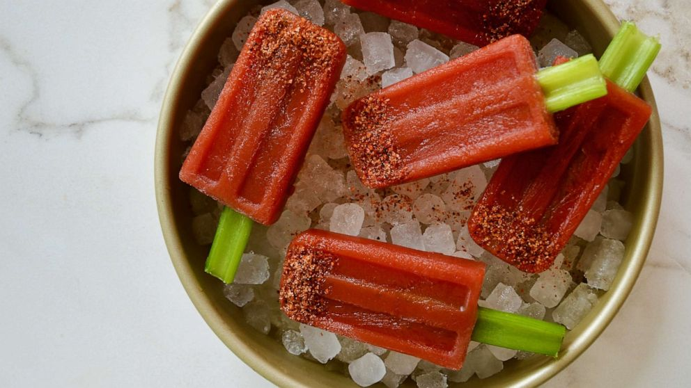 Bloody Mary popsicles and ice cubes are the next frozen trend you have to try   ABC News
