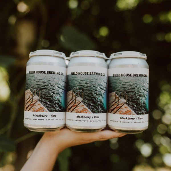 Field House Brewing Releasing Two New Flavours of Beer Spritz   Canadian Beer News