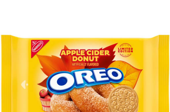 OREO limited edition cookie Apple Cider Donut flavored OREO cookies