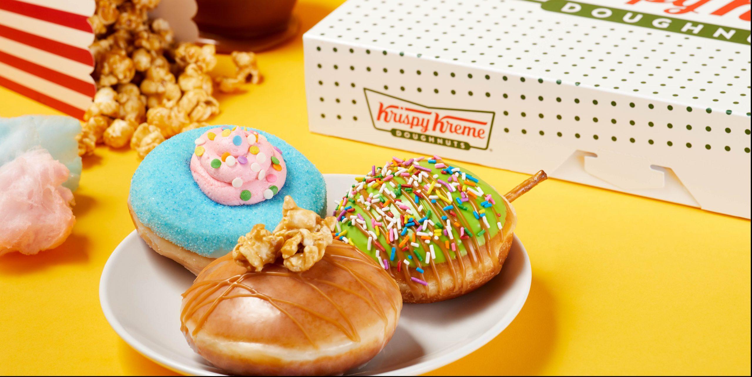 Krispy Kreme's Has New Carnival Donuts | Delish