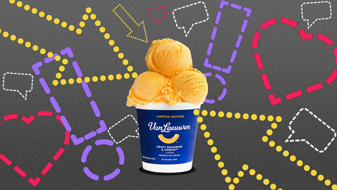 Why marketers love mashups, from mac 'n' cheese ice cream to baked bean smoothies | Fast Company