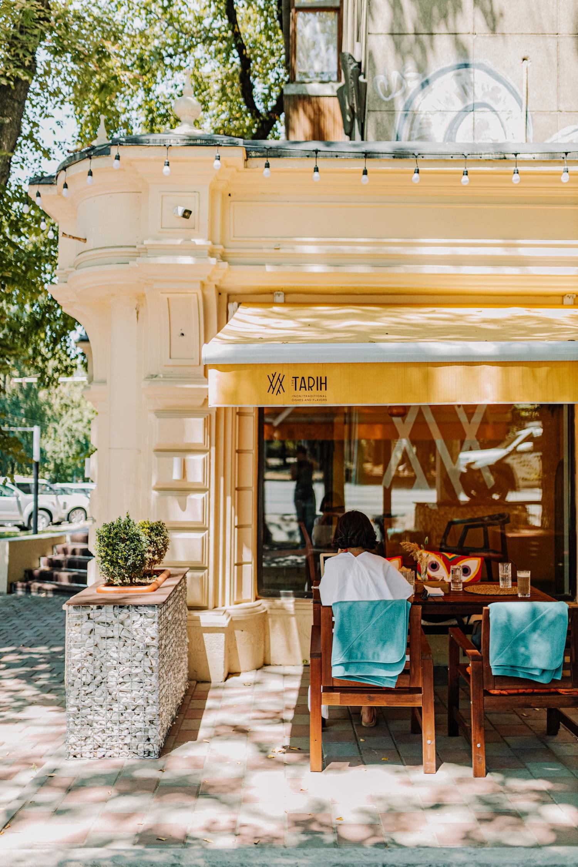 The Tarih restaurant in Almaty