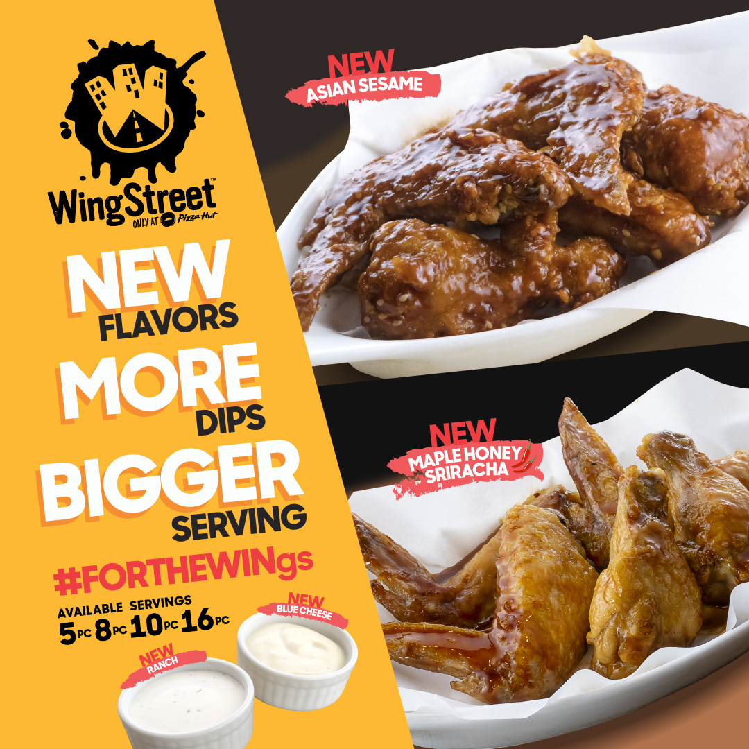 Pizza Hut introduces new chicken wings flavors   Rappler