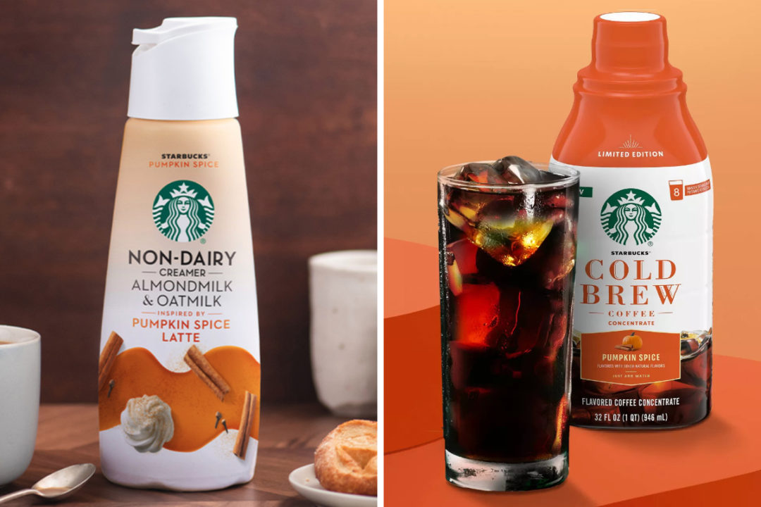 Starbucks unveils two new pumpkin spice products   Food Business News