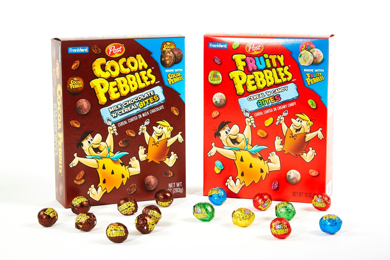Fruity PEBBLES & Cocoa PEBBLES Bites Candy   HYPEBEAST