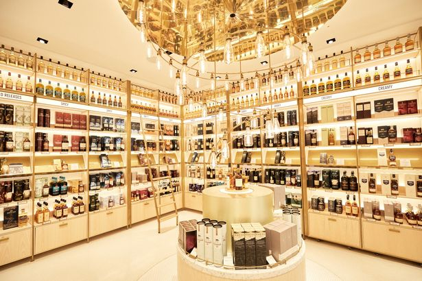 The Johnnie Walker Experience has state of the art retail spaces