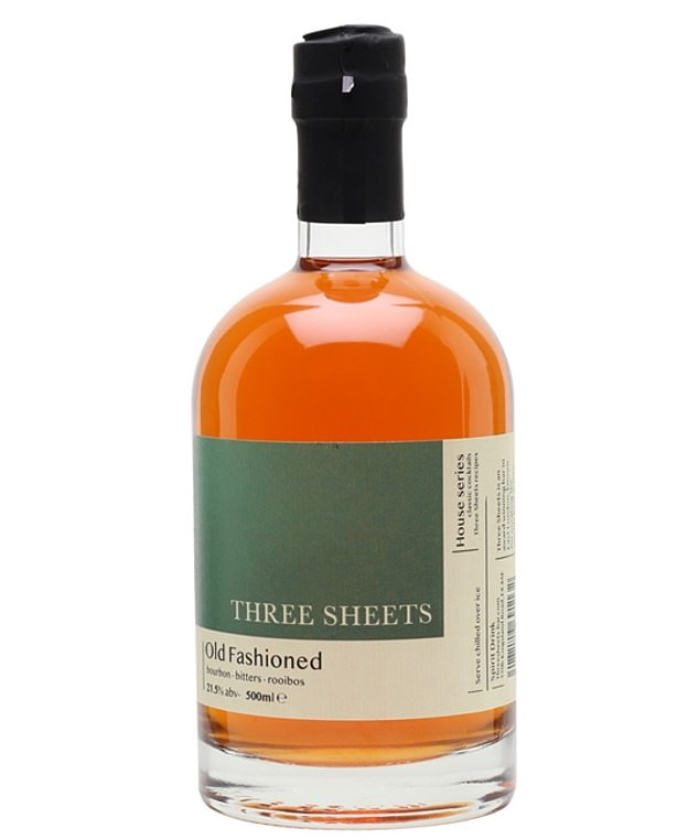 Helen saidThree Sheets Old Fashioned (pictured) has fresh, spicy, sweet and smoky flavours all at once