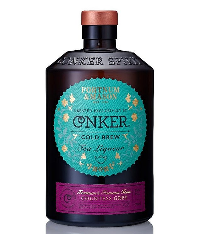 Helen saidFortnum¿s X Conker Distillery Cold Brew Tea Liqueur (pictured) tastes smooth, sweet and spicy