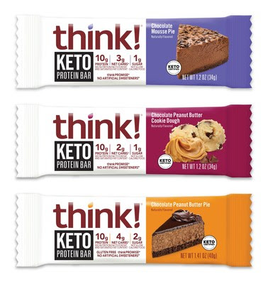think! Expands Keto Protein Bars With New Flavors | Nosh