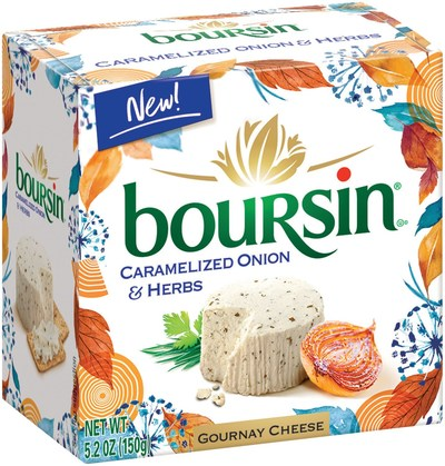 Celebrate Fall with Boursin® Cheese's New Seasonal Flavor, Caramelized Onion & Herbs