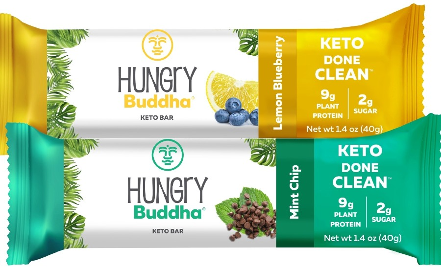 Buddha Brands unveils two new flavors of its Hungry Buddha Keto Bars   Candy Industry