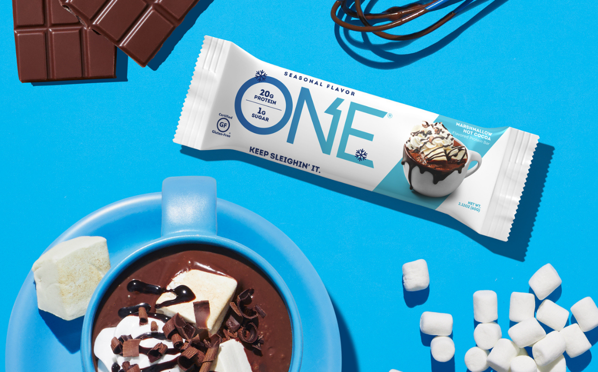 Hershey unveils new seasonal protein bar flavour for One Brands   FoodBev Media