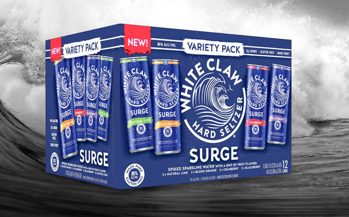 White Claw launches variety pack with new flavours   FoodBev Media