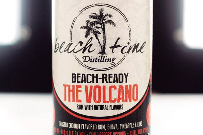 Explore the Volcanic Taste of Lewes' Beach Time Distilling Cocktails | Delaware Today