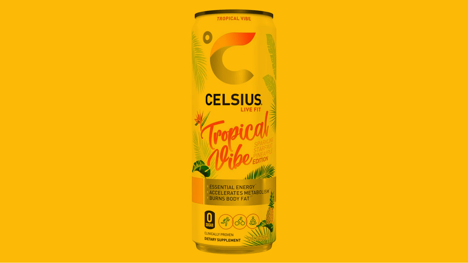 Celsius adds Tropical Vibe flavor to fitness drink lineup | Vending Market Watch