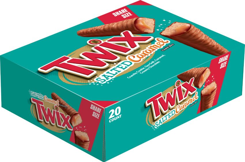 TWIX Salted Caramel is the ultimate sweet and salty treat | Foodsided
