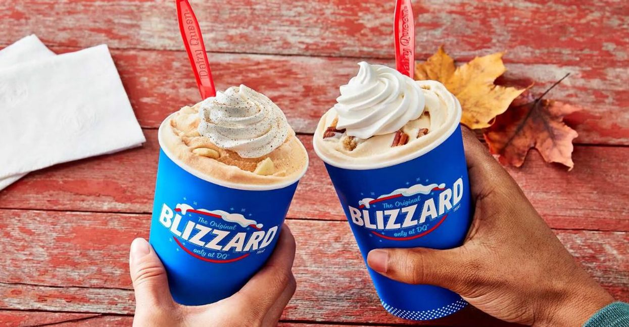 Dairy Queen Canada's New Fall Flavours Include Pecan Pie & The Return Of Pumpkin Pie Blizzard   Narcity