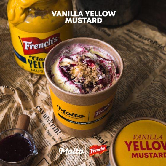 Vanilla Yellow Mustard