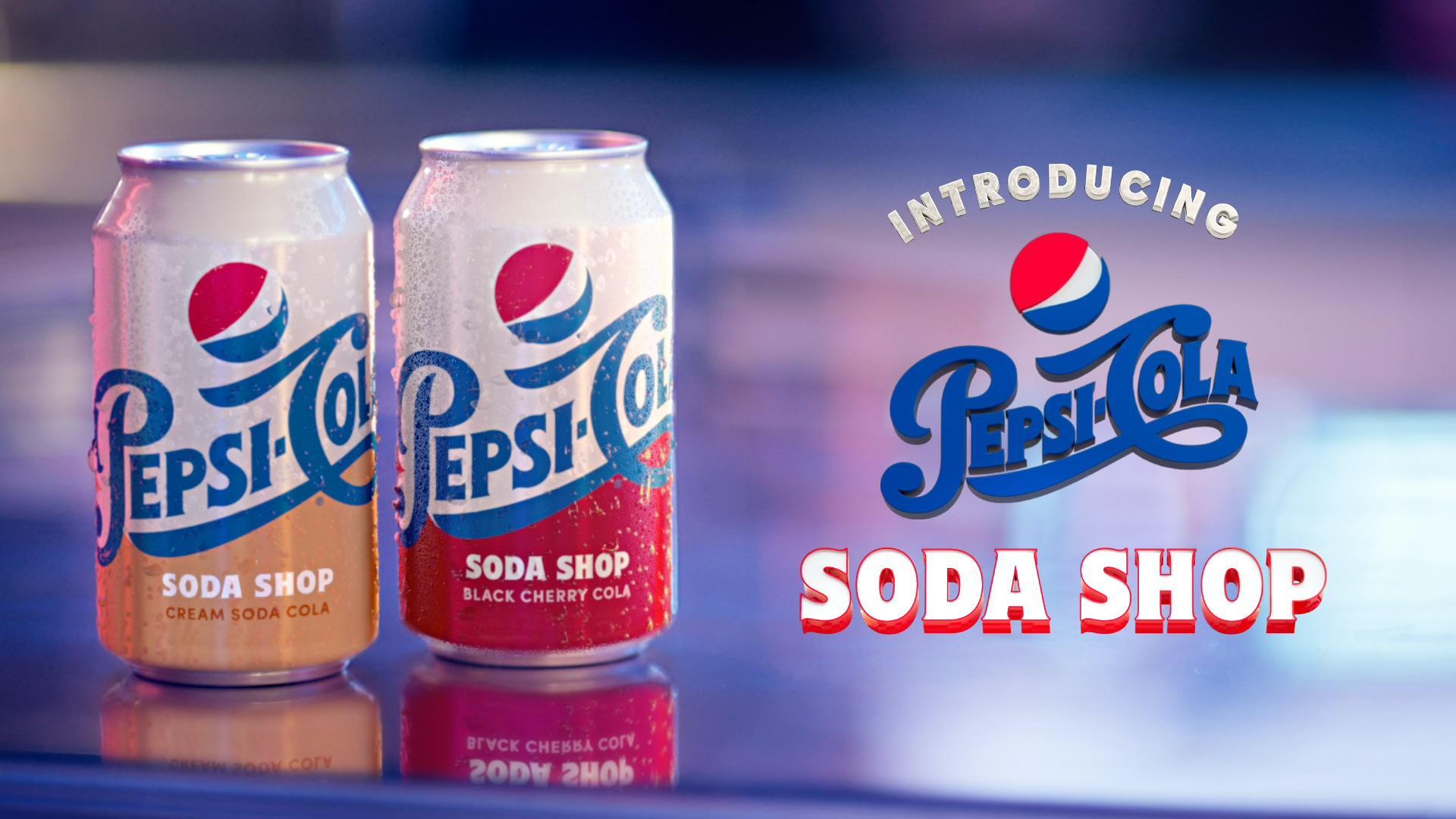 Pepsi Cream Soda & Black Cherry | Food Digital